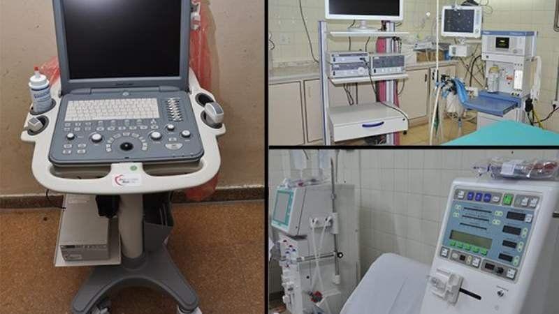 Nuevo equipamiento para el Hospital Santamarina