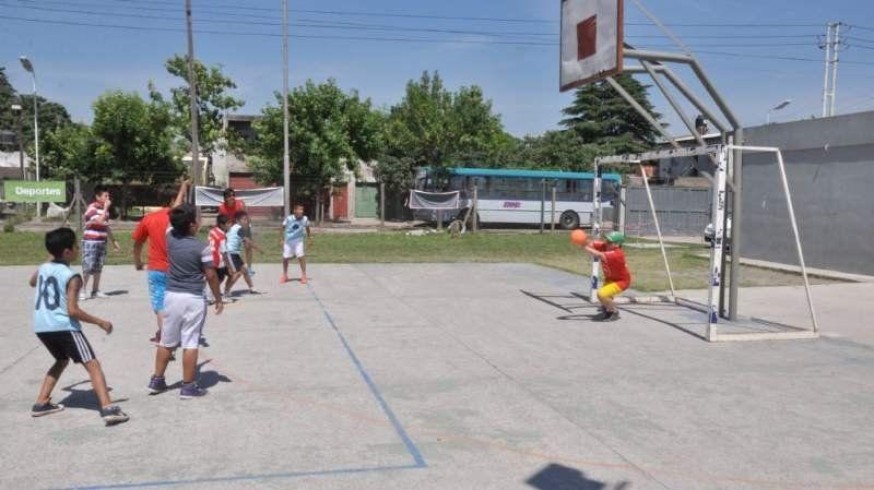 Encuentro recreativo de Mini Handball