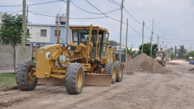 Pavimentarán 115 cuadras del Barrio Plan Federal