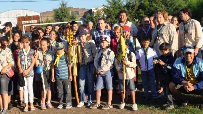 Los Scouts de Monte Grande visitaron Entre Ríos