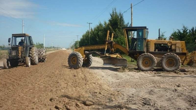 Intenso trabajo de mejoramiento en las calles del municipio