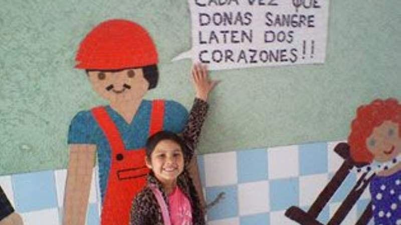 Realizarán una campaña de donación de sangre por Sofía López