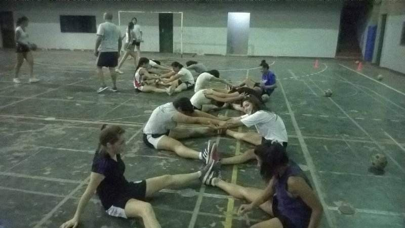 Las chicas de Unión del Sur pusieron primera y empezaron con los entrenamientos