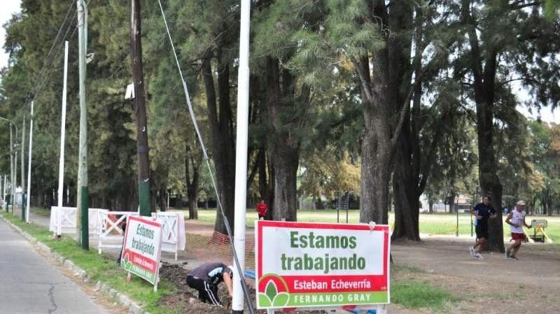 El Campo Amat renueva sus luminarias