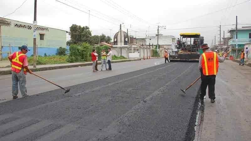 ¿Cuál es el proceso de asfaltado de las calles?