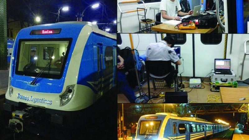 Comenzaron las pruebas de desempeño del nuevo Tren Roca