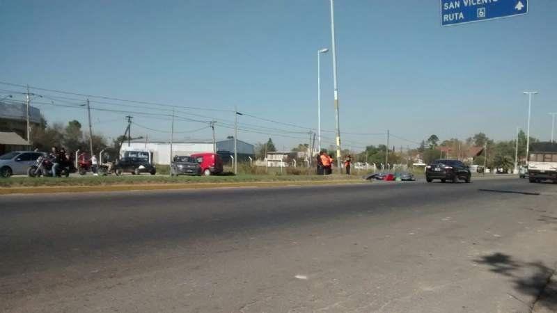 Accidente fatal en Alejandro Korn: un motociclista muerto