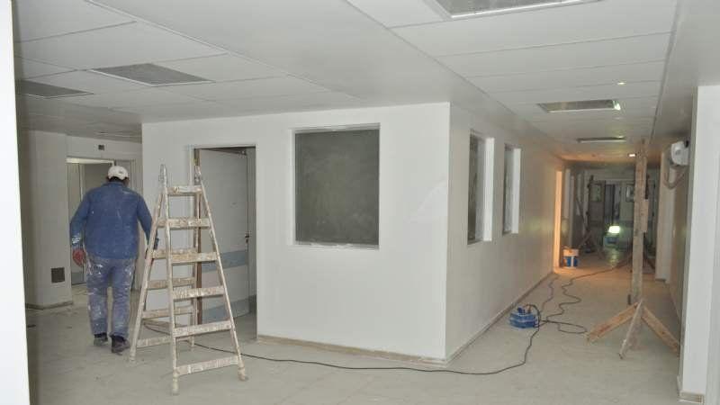 Nuevo área de internación en el Hospital Santamarina