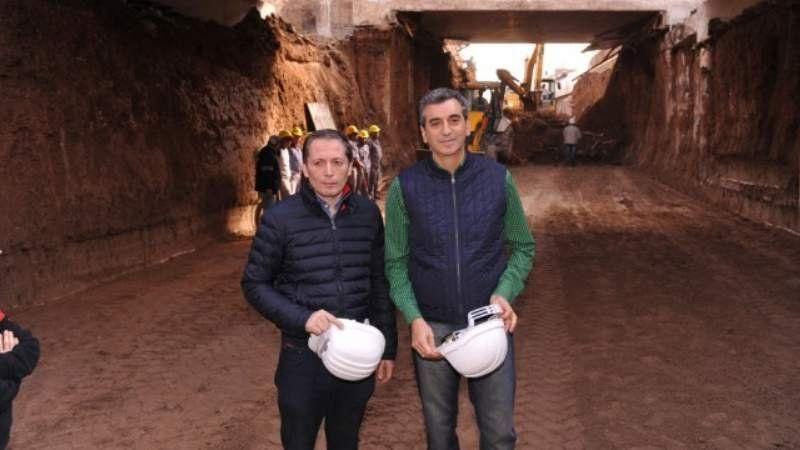 Randazzo visitó las obras de Cervetti