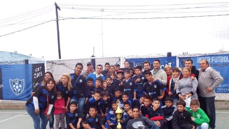 Inter Futbol Club celebró el Sub Campeonato