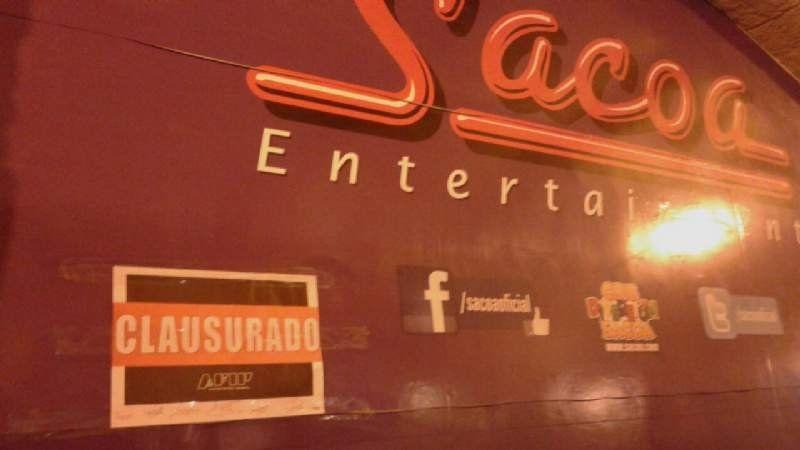 Allanan el Sacoa de Plaza Central