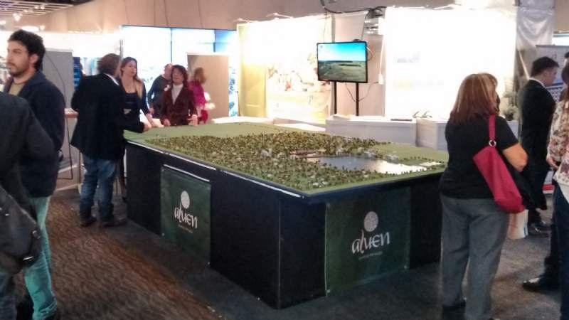 Poca presencia de Canning en la Expo Real Estate 2015