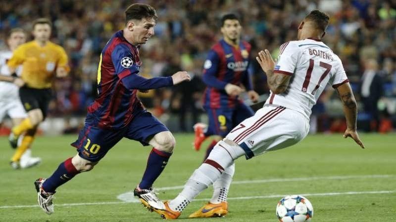 Messi hizo el gol del año