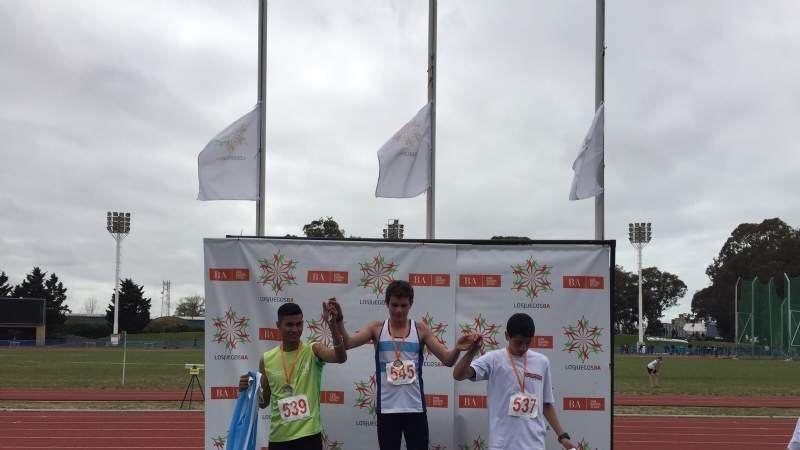 Dos medallas de bronce para Echeverría