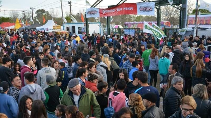 La Fiesta de la Mozzarella es la más importante de San Vicente