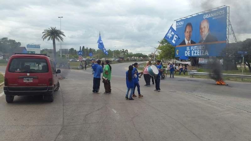 Protesta en la Ruta 58