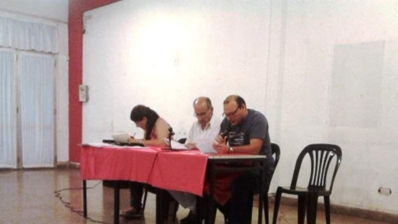 Asamblea de Socios en Club Atlético Monte Grande