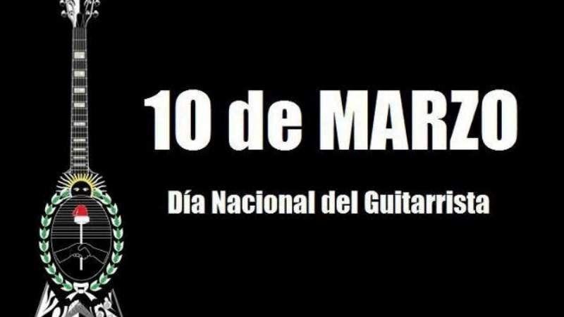 ¿Existe el Día Nacional del Guitarrista?