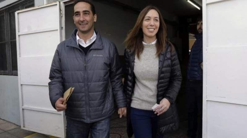 La gobernadora Vidal se separó de su marido Ramiro Tagliaferro