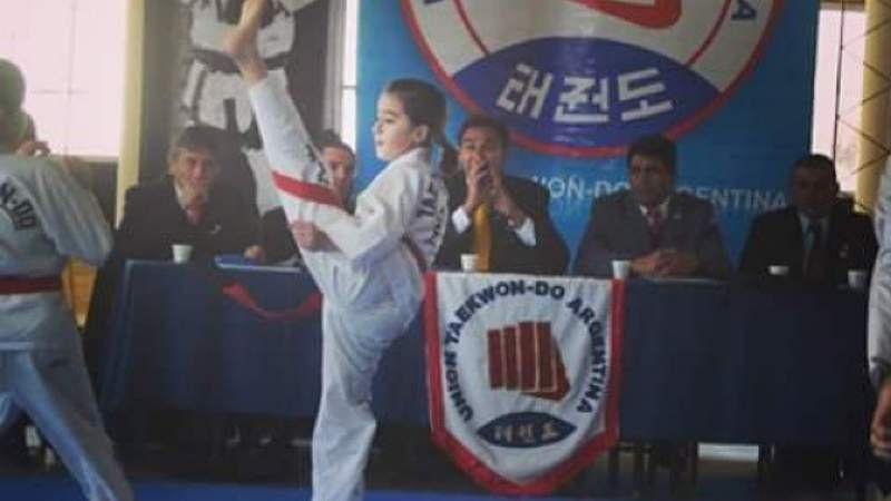 Nicole Sánchez, una de las nuevas promesas del tae-kwondo