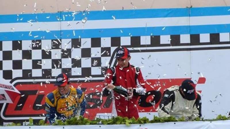 Gastón Iansa ganó en Concordia y puso a San Vicente en lo más alto
