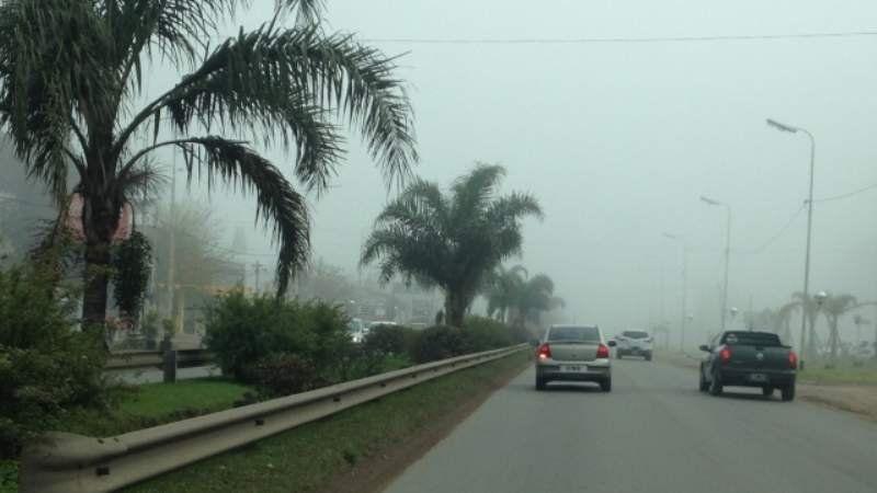 Vialidad Nacional envió una alerta a la ciudad por bancos de nieblas