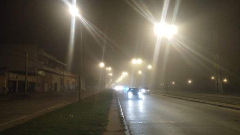 Precaución: Intensa niebla en los principales accesos de la región