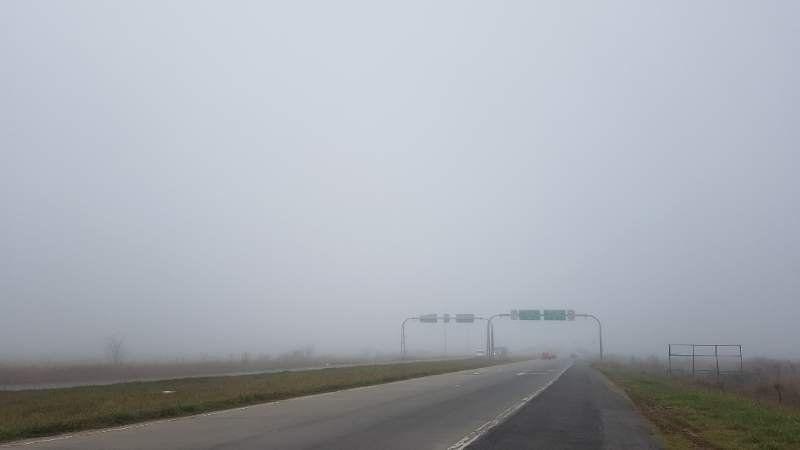 Persiste la niebla en San Vicente y Korn y hay preocupación