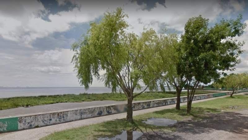 Encontraron restos humanos en una playa de Punta Lara
