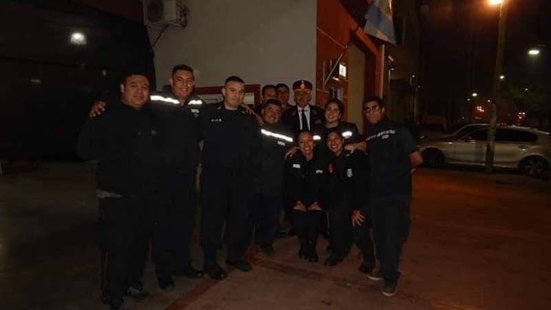 Asi fue la celebración de los Bomberos Voluntarios de Presidente Perón