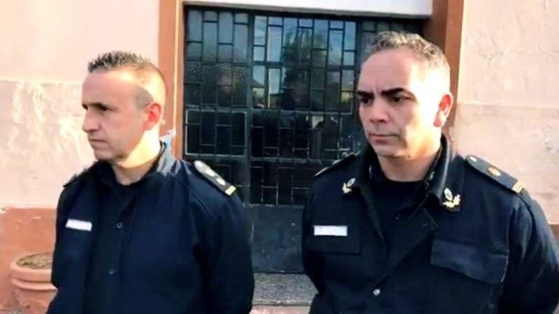 Ex comisarios de San Vicente asumieron en Monte tras el escándalo