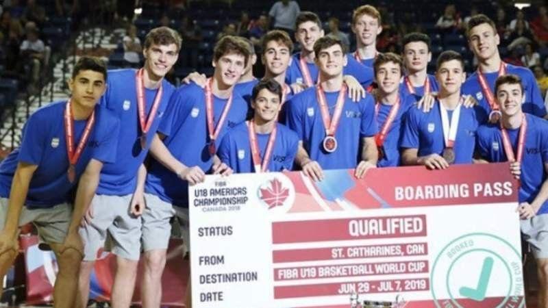 La Selección Argentina U19 de básquet jugará un amistoso gratuito en Lomas