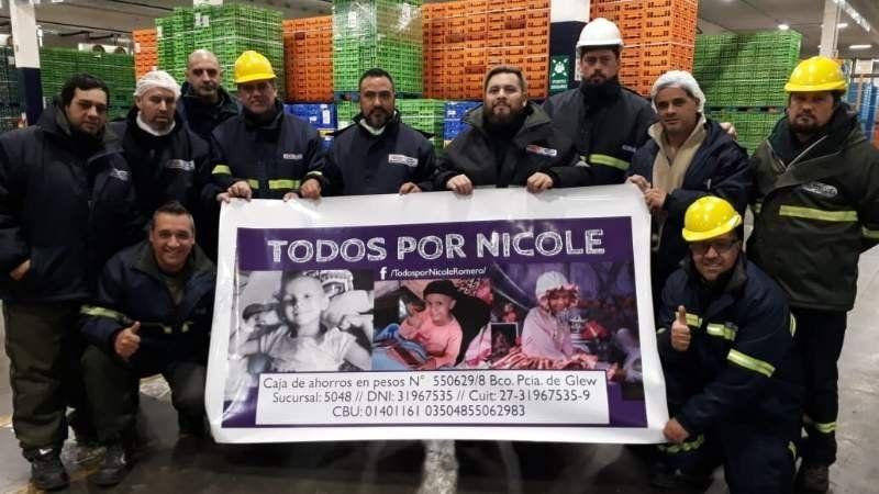 Todos por Nicole: El gran gesto de los trabajadores de la Serenísima para recaudar fondos