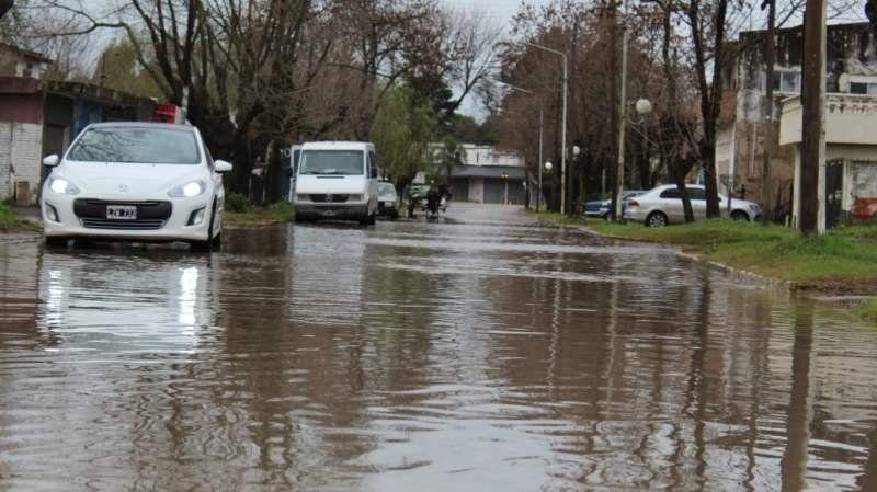 En tres días en San Vicente llovió el doble que el promedio del mes: las consecuencias