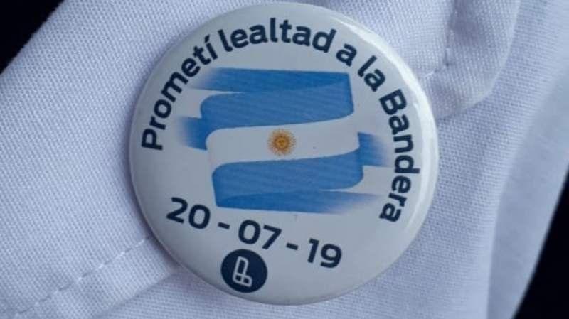 Papelón de Grindetti: equivocaron el mes del día de la bandera