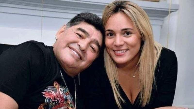 Así fue el reencuentro entre Diego Maradona y Rocío Oliva