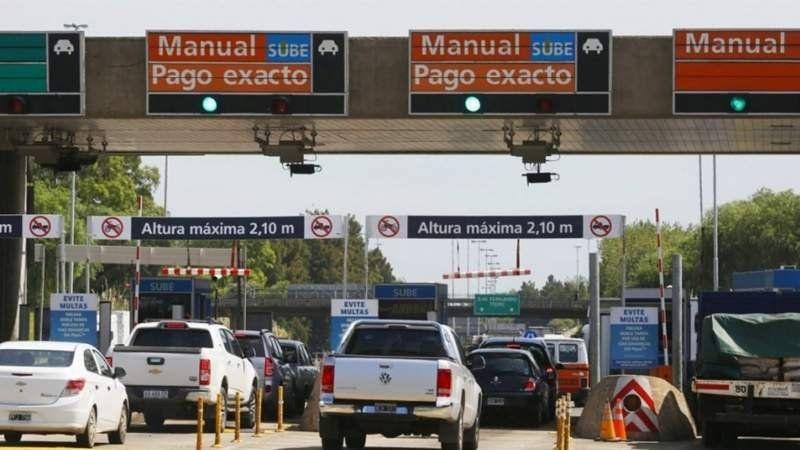 Cobrarán multas de hasta $15 mil por no pagar el peaje de la autopista Buenos Aires-La Plata