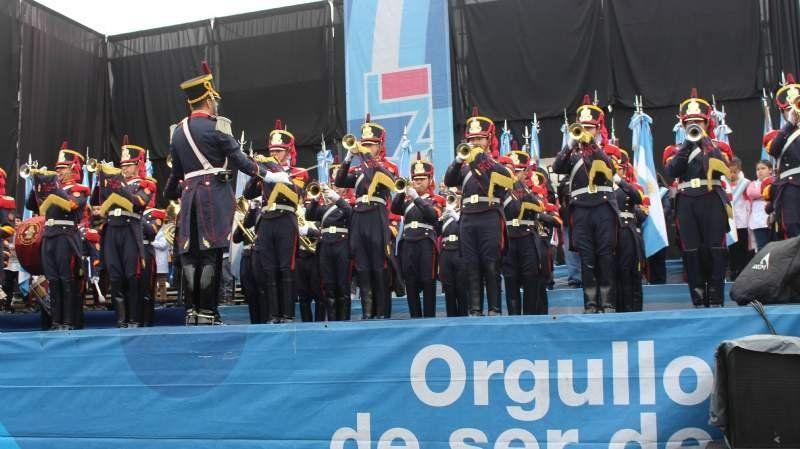 Las mejores fotos del emotivo acto de promesa a la Bandera