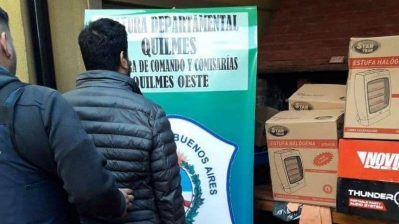 Quilmes: Empleados de una fábrica se llevaron 130 estufas con un robo hormiga