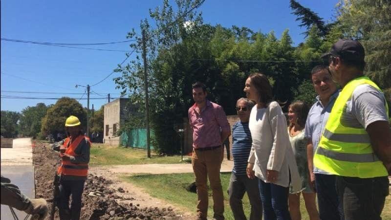 Cómo fueron las 4 visitas de María Eugenia Vidal a San Vicente