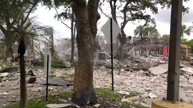 Estados Unidos: Explotó un shopping y hay varias personas heridas