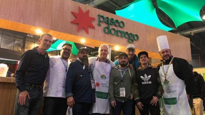 Cocineros echeverrianos participan de una feria gastronómica a nivel nacional