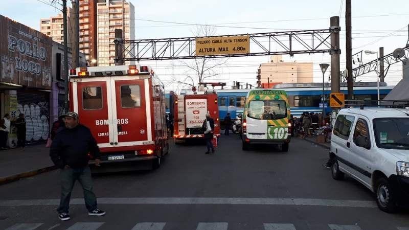 Tren Roca con demoras por accidente en Lomas