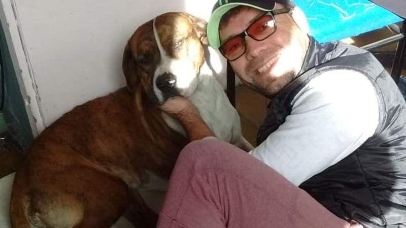 Video: Conmovedor reencuentro de Martin con su perro Franco
