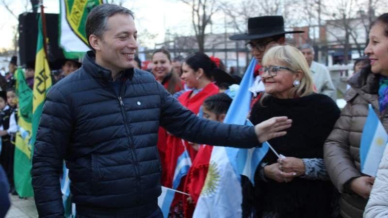 Galería de fotos: Echeverría festejó el 9 de Julio