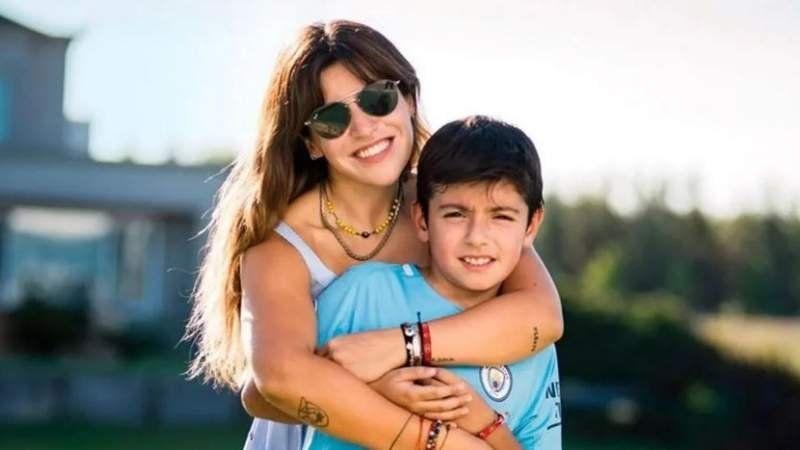 Emotiva despedida de Gianinna Maradona de su hijo: Llenate de nuevas vivencias