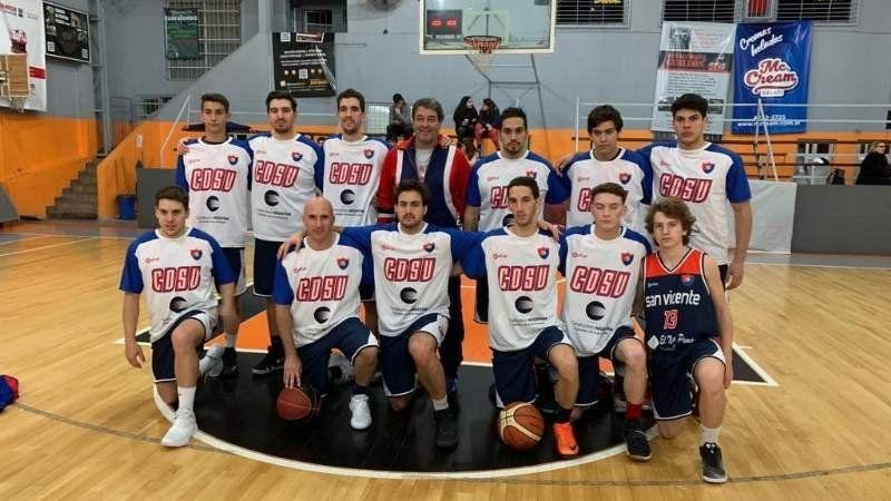 El plantel de basquet del Club Deportivo San Vicente está a un paso del Torneo Provincial 2019
