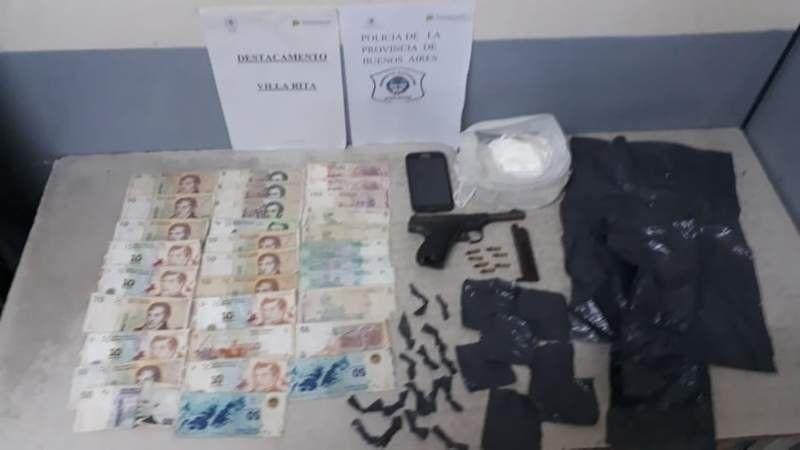 Villa Rita: lo detuvieron por vender cocaína a media cuadra de una escuela