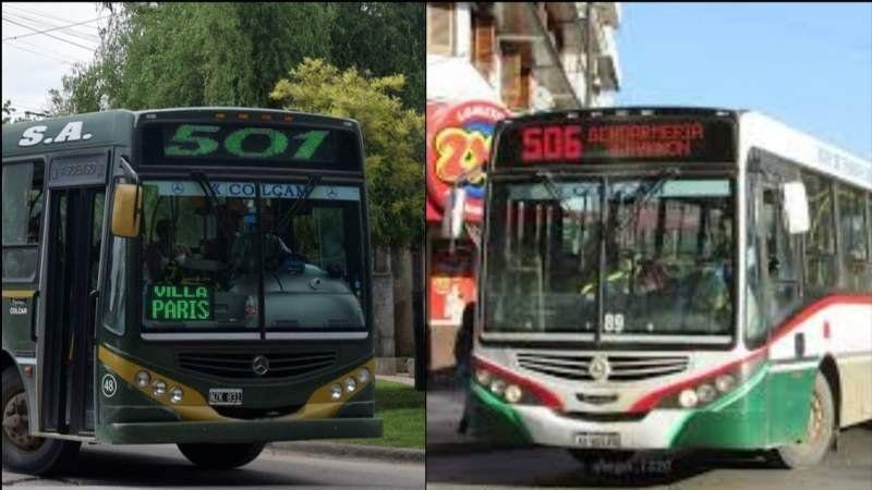 Nuevos ramales de las líneas 501 y 506: ¿Cómo funcionarán?