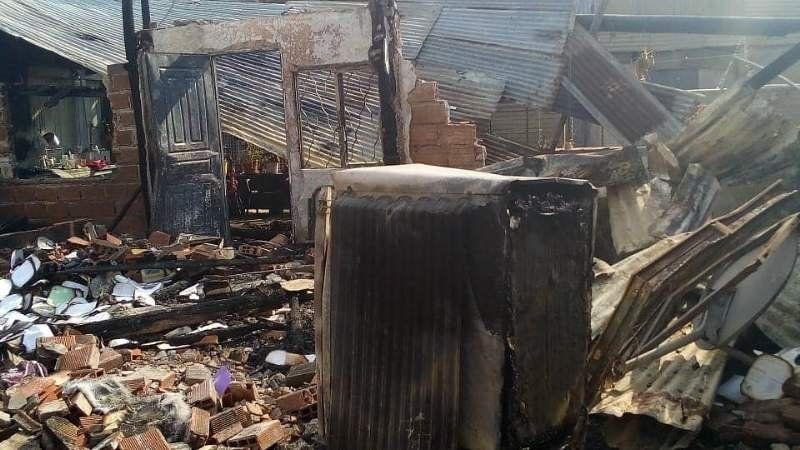 Glew: Se incendió su casa y uno de sus perros falleció